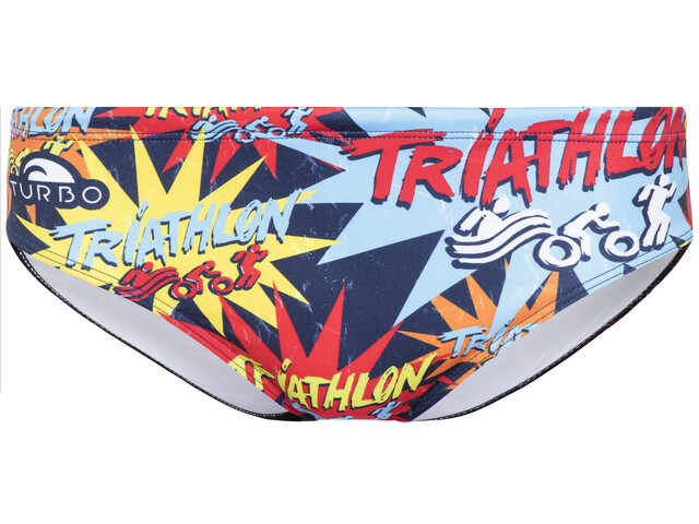 Turbo Triathlon New Star Brief Men Multicolor